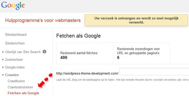 Blog-Google-website-indexeren