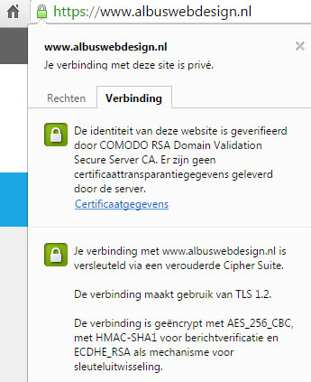 Albus-Webdesign-SSL-certificaat