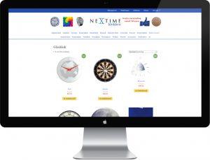 webdesign nextime-klokken