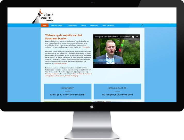 webdesign duurzaam dossier