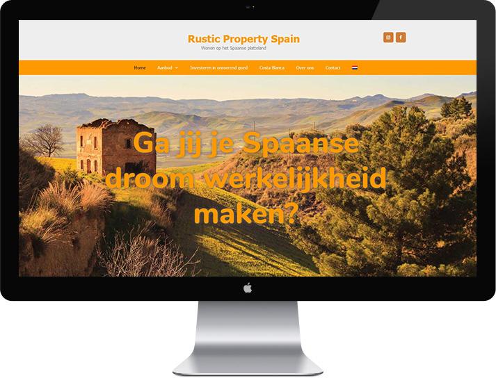 Website Rustic Property Spain