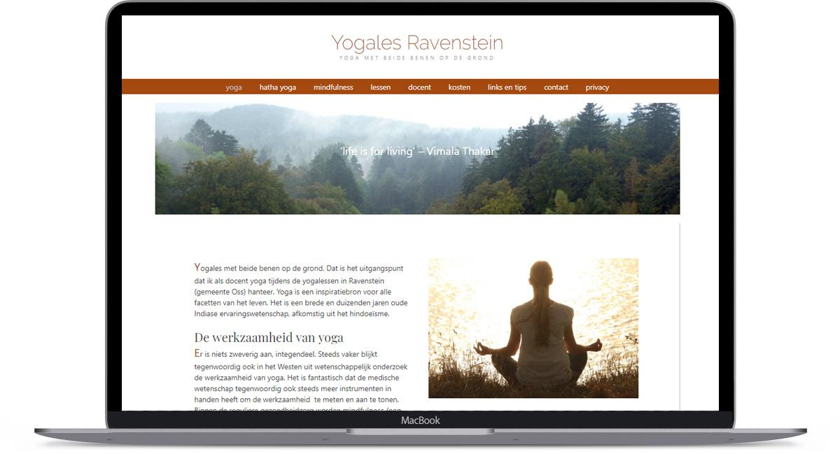 website Yoga Ravenstein